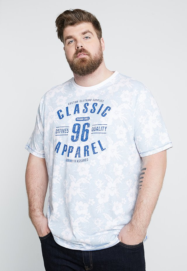 T-shirts print - sky blue