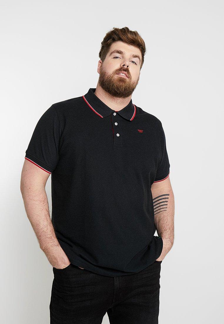 Duke - TRACK - Polo shirt - black