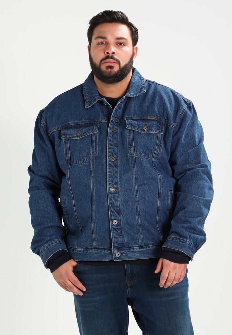Duke - TRUCKER - Giacca di jeans - blue stonewashed