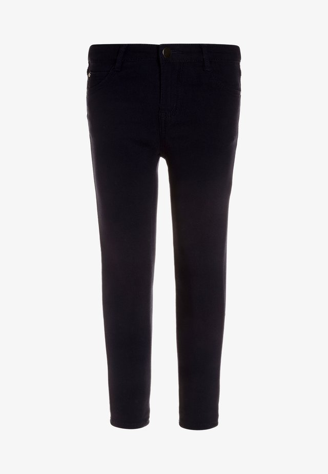 EMMIE STRETCH PANTS - Kangashousut - black iris