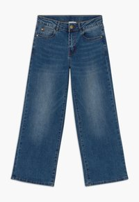 The New - ONINKA WIDE - Straight leg jeans - light blue denim - 0
