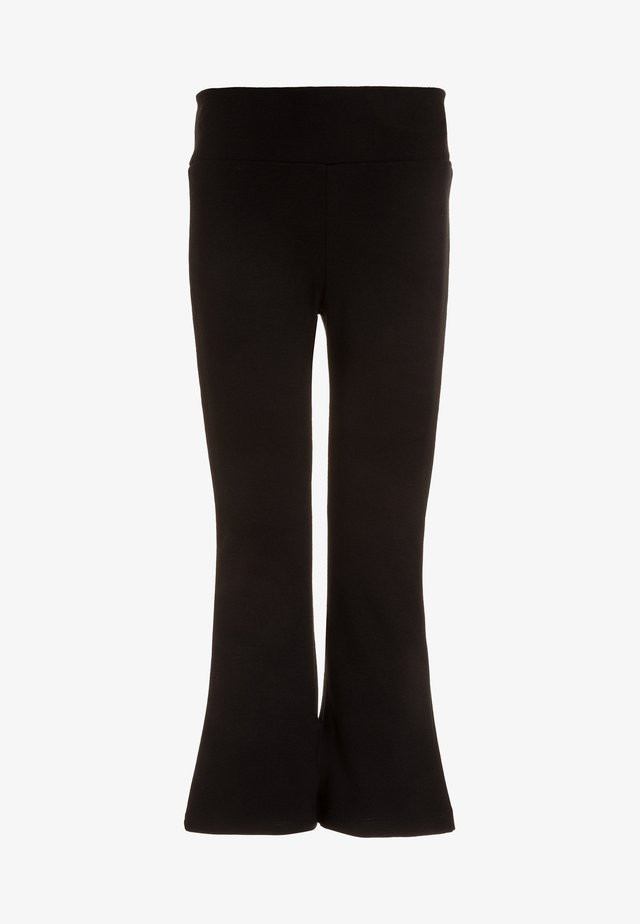 YOGA PANTS - Spodnie treningowe - black