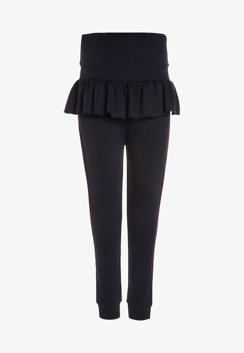 The New - KULLU PEPLUM PANTS - Legíny - black iris