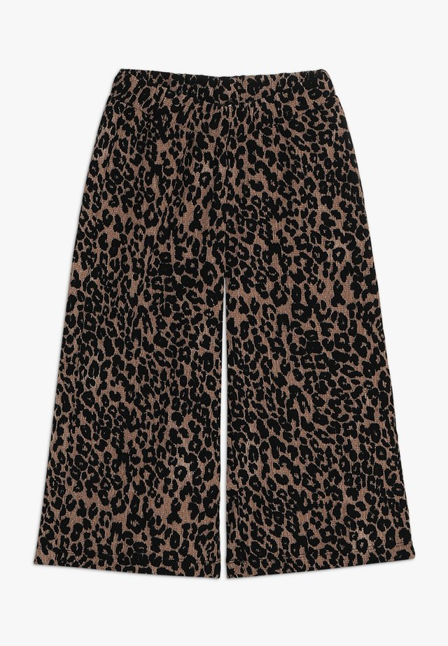 URBAN CULOTTES - Trousers - brown