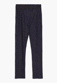 The New - OLIVIA PANTS - Trousers - black iris - 0