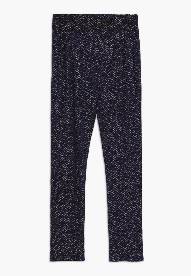 OLIVIA PANTS - Trousers - black iris
