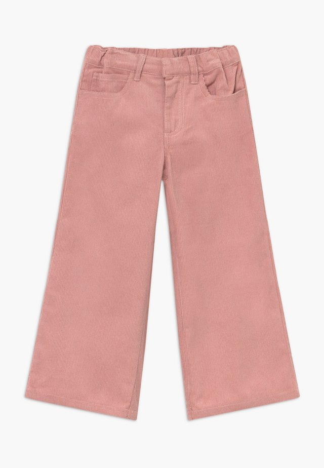 OMILA  WIDE - Trousers - peachskin