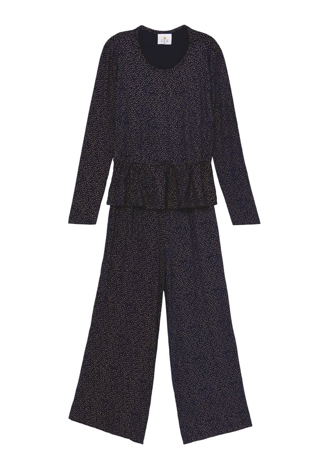 OLIVIA  - Overall / Jumpsuit - black iris