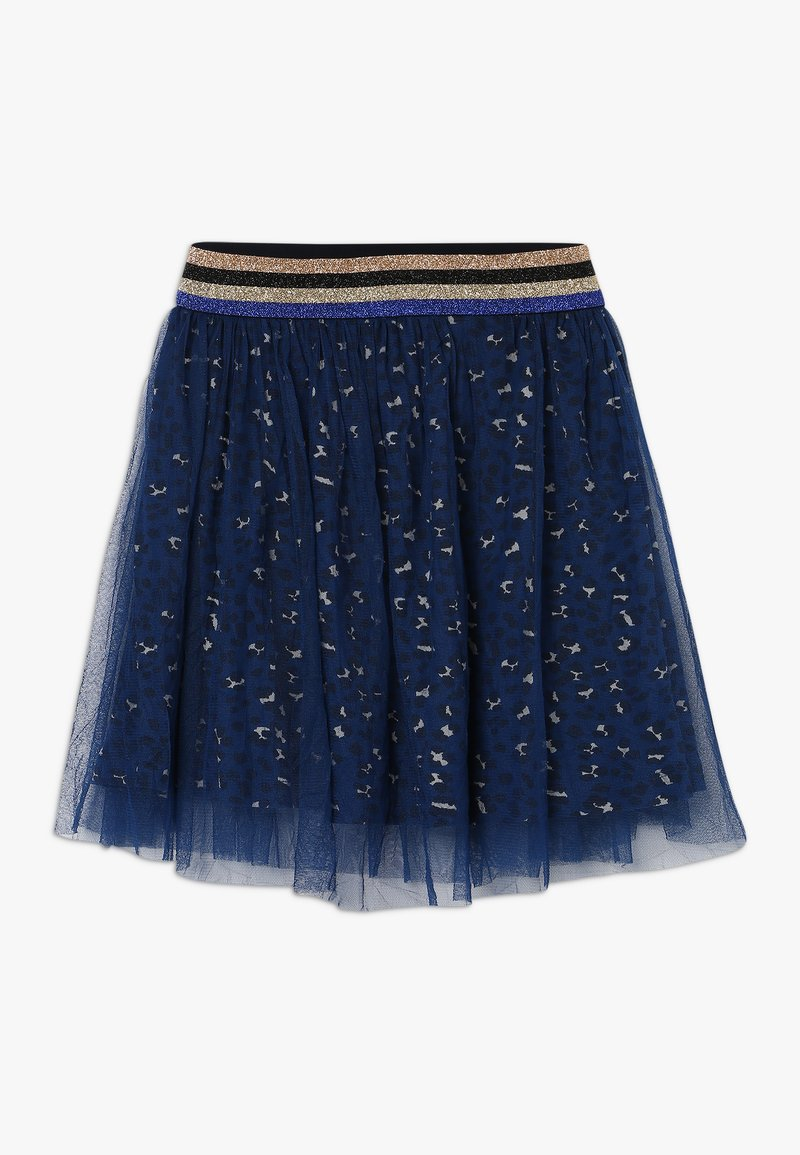 The New - ANNA MARY SKIRT - A-Linien-Rock - black iris