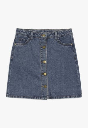 MARIZZA SKIRT - Denimová sukně - blue denim