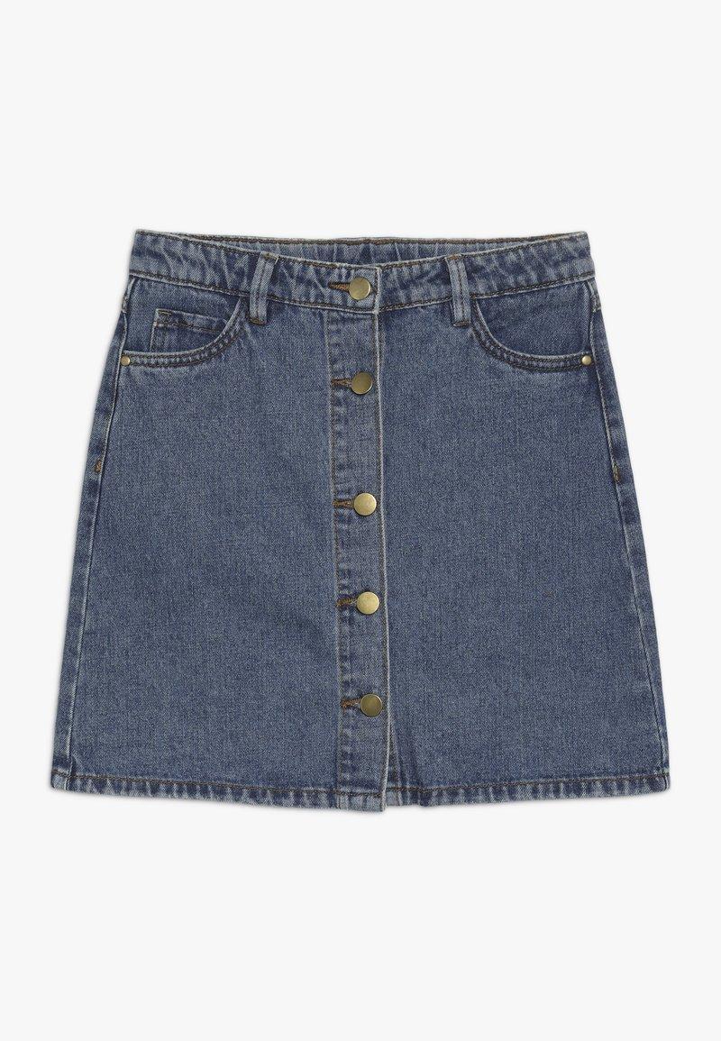 The New - MARIZZA SKIRT - Denim skirt - blue denim