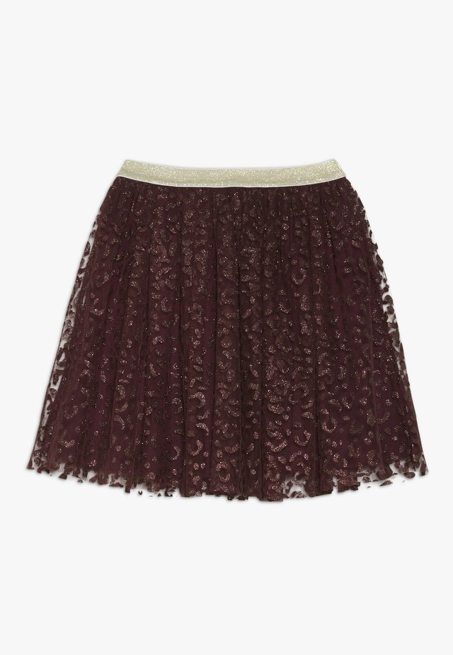 ANNA FANNA SKIRT - Mini skirt - winetasting