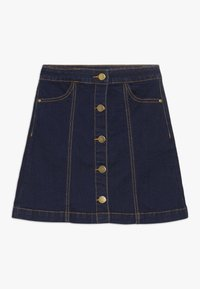 The New - ORVELLE SKIRT - A-line skirt - dark blue denim - 0