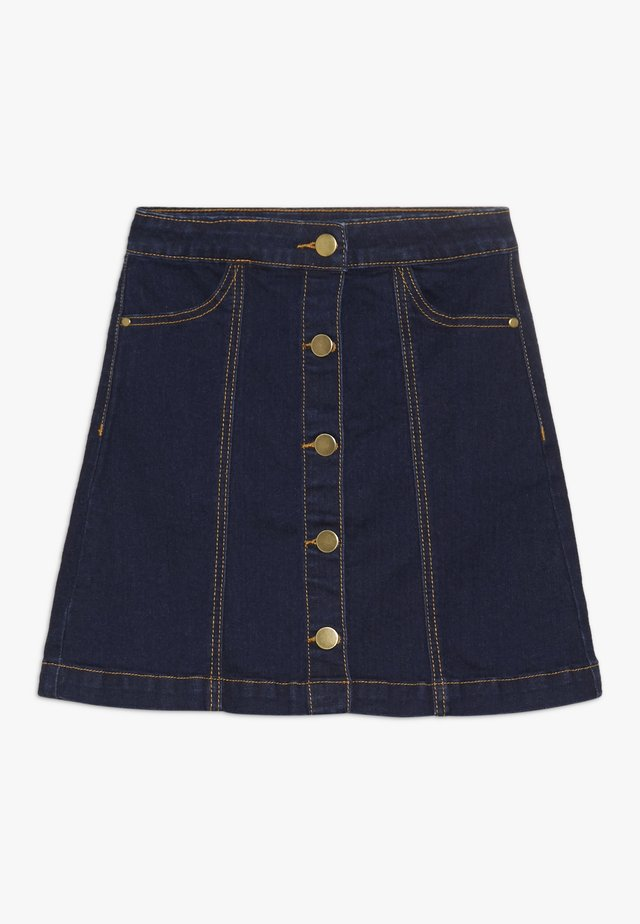 ORVELLE SKIRT - Gonna a campana - dark blue denim