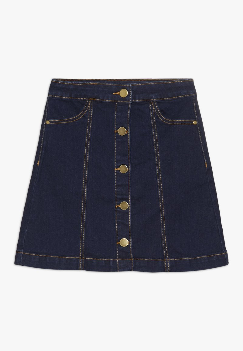 The New - ORVELLE SKIRT - A-line skirt - dark blue denim