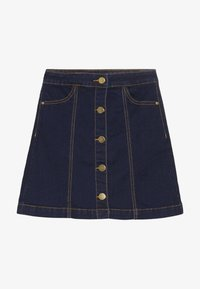 The New - ORVELLE SKIRT - A-line skirt - dark blue denim - 2