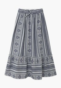 The New - OCIE - Maxi skirt - dark blue - 0