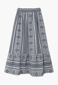The New - OCIE - Maxi skirt - dark blue - 1