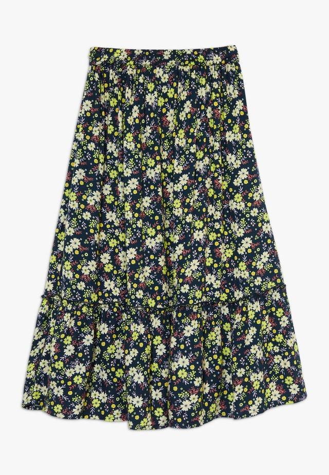 OLGA SKIRT - Maxi skirt - black iris