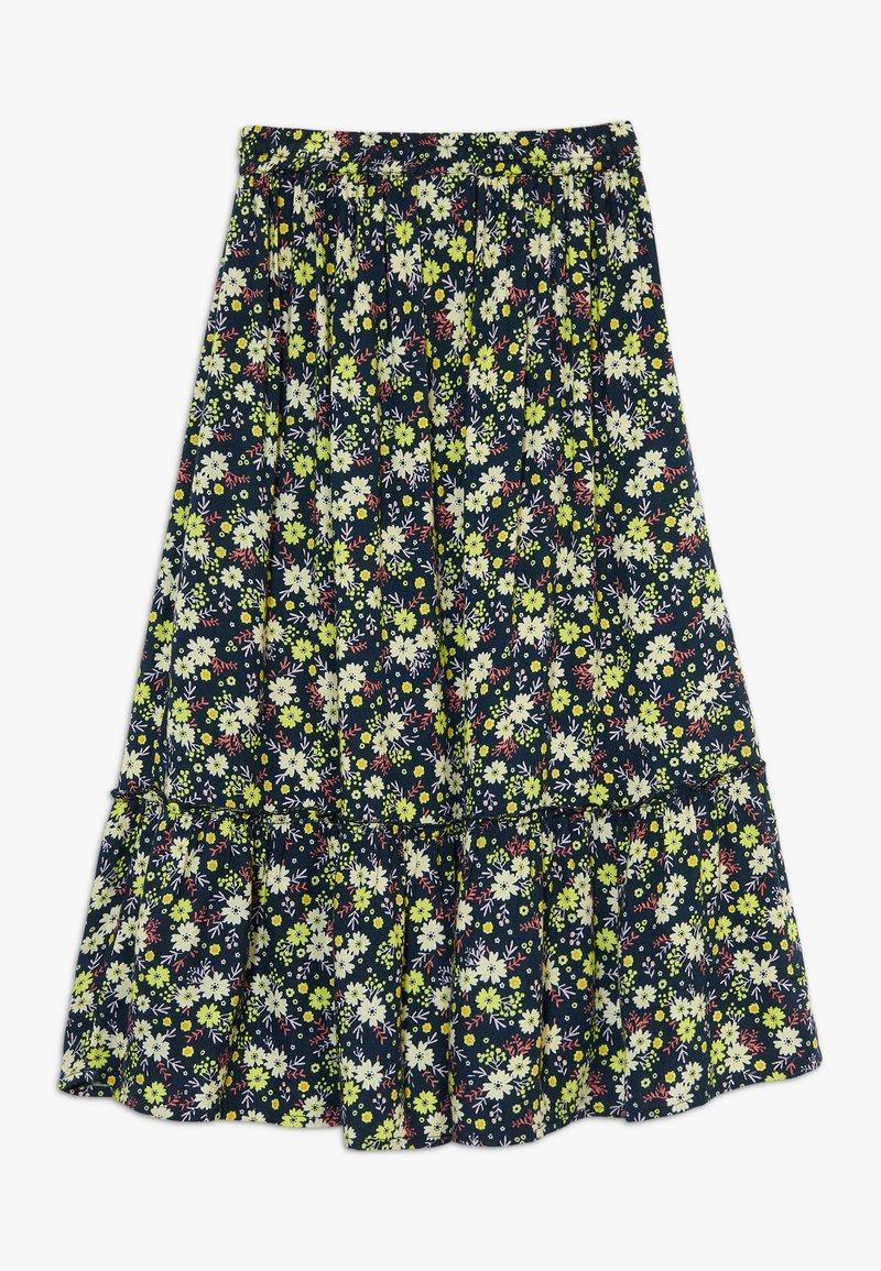 The New - OLGA SKIRT - Maxi skirt - black iris