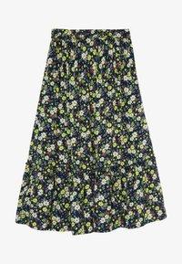 The New - OLGA SKIRT - Maxi skirt - black iris - 2