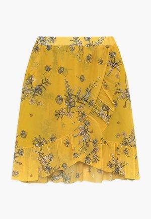 PADDIE - A-lijn rok - yellow