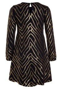 The New - JAMIA DRESS - Jerseyklänning - black iris - 1