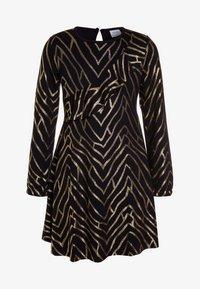 The New - JAMIA DRESS - Jerseyklänning - black iris - 0