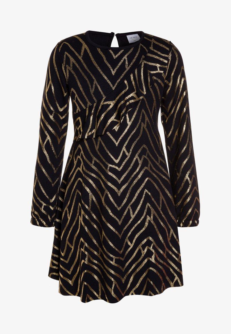The New - JAMIA DRESS - Jerseyklänning - black iris