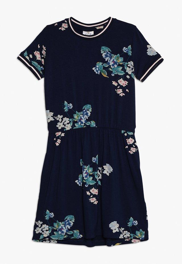 KAISJA DRESS - Jersey dress - black iris