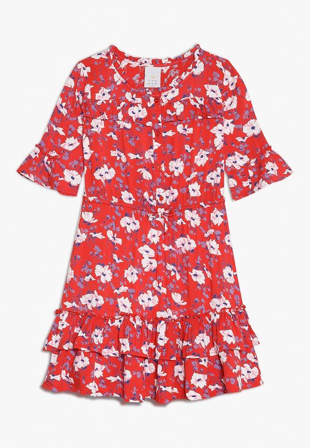 KAKTUS DRESS - Day dress - tomato