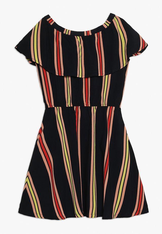LYNN FLOUNCE DRESS - Day dress - black iris
