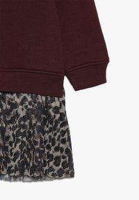 The New - MIRA SCHOOL DRESS - Denní šaty - winetasting - 3