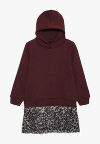 The New - MIRA SCHOOL DRESS - Denní šaty - winetasting - 0