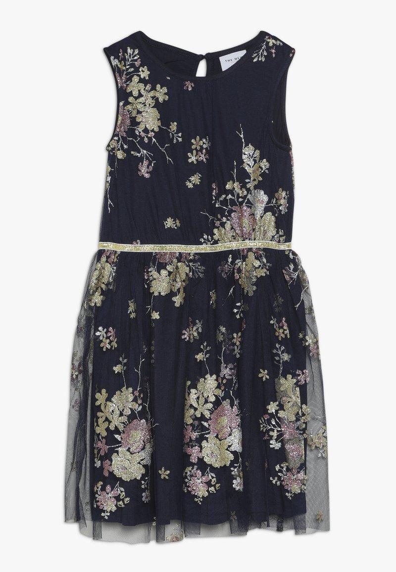 The New - ANNA NESSA DRESS - Koktejlové šaty/ šaty na párty - navy blazer