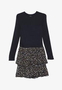 The New - MELROSE MEDELENE DRESS - Žerzejové šaty - black iris - 2