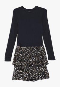 The New - MELROSE MEDELENE DRESS - Žerzejové šaty - black iris - 0