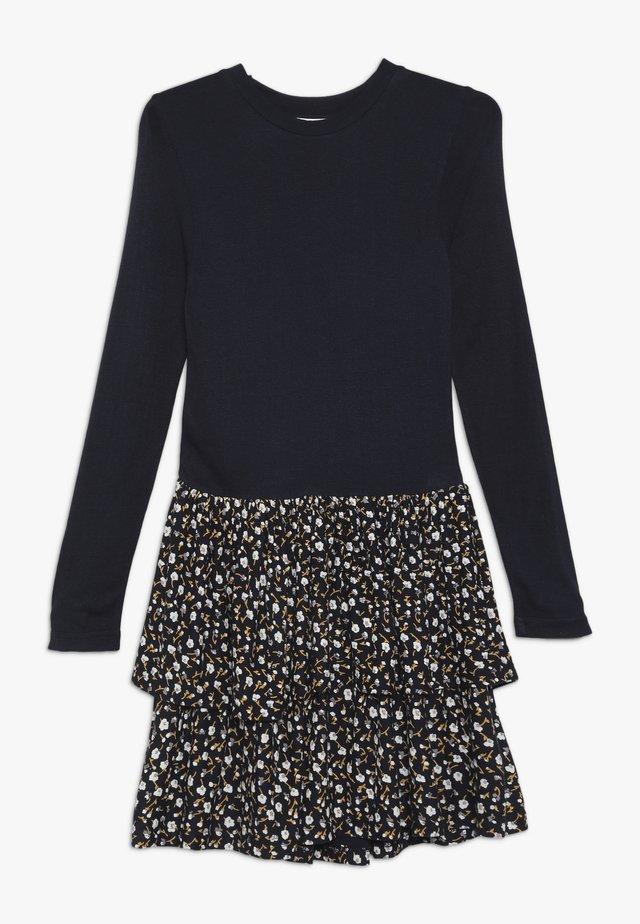 MELROSE MEDELENE DRESS - Vestito di maglina - black iris