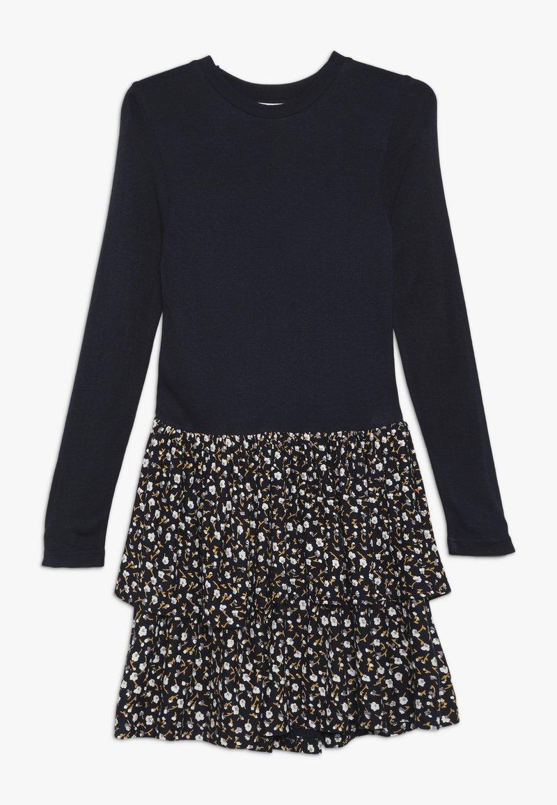 The New - MELROSE MEDELENE DRESS - Žerzejové šaty - black iris