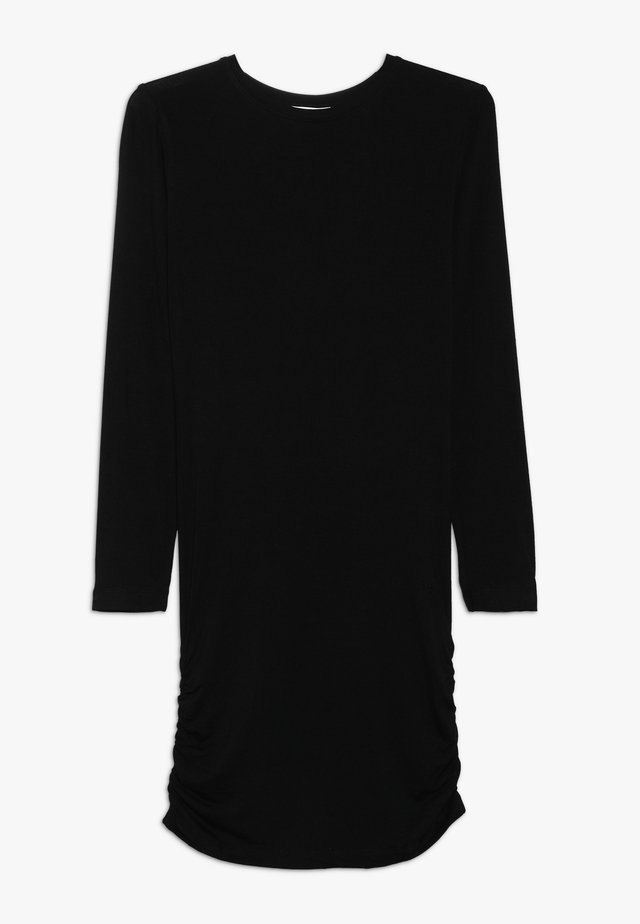 ANUKA DRESS - Jersey dress - black