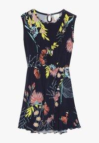 The New - OLMA DRESS - Jersey dress - black iris - 0