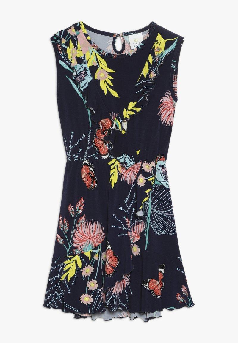 The New - OLMA DRESS - Jersey dress - black iris