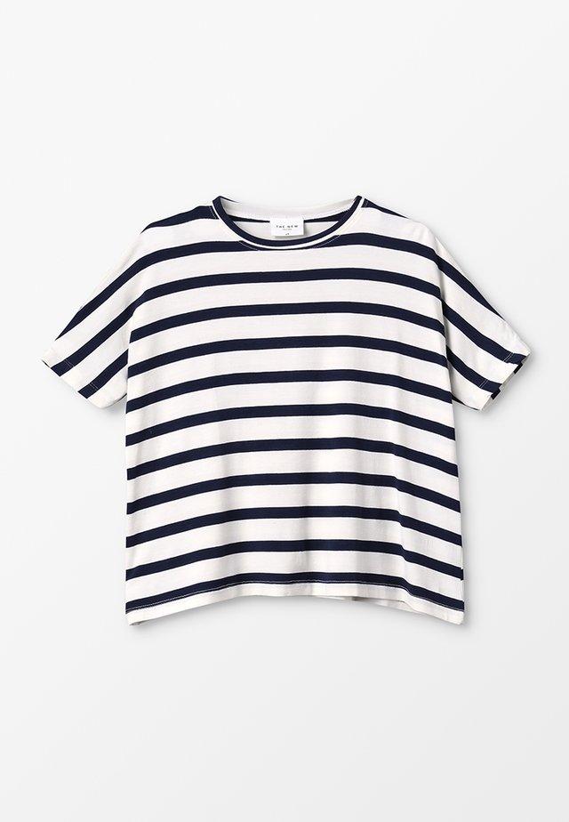 KATHRINE BAT TEE - T-shirt con stampa - black iris