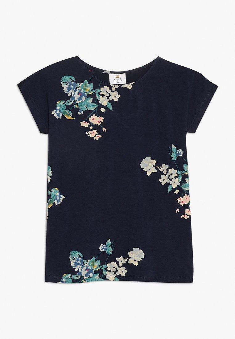 The New - KAISJA TEE - Camiseta estampada - black iris