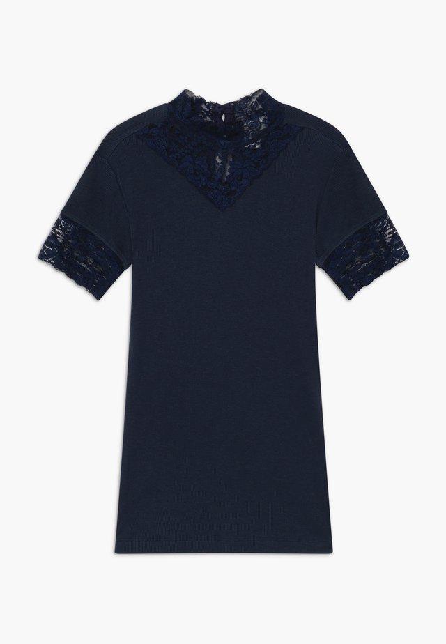 TEE - T-shirt con stampa - navy blazer