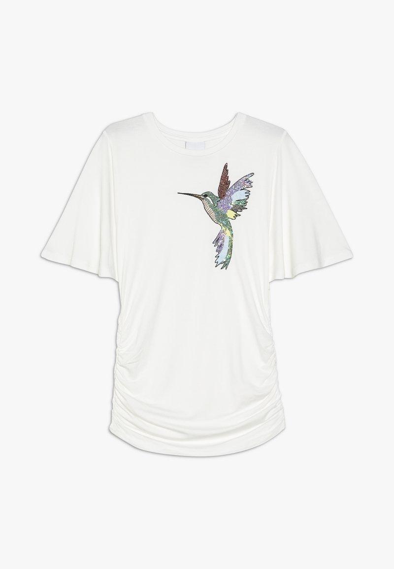 The New - OTELIA TEE - Print T-shirt - cloud dancer