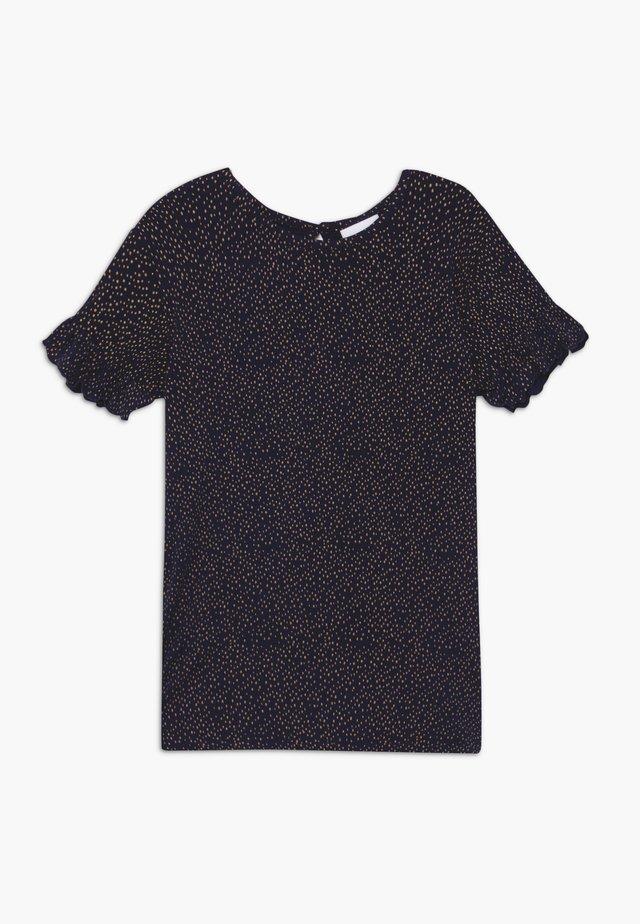 OLVIA TEE - Print T-shirt - black iris