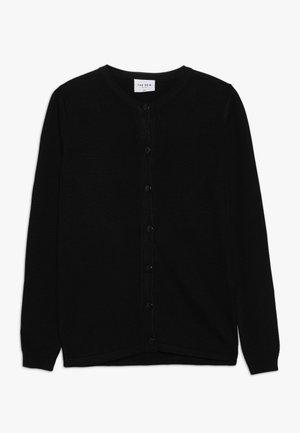 BASIC CARDIGAN - Chaqueta de punto - black