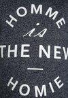 The New - GILE  - T-Shirt print - black iris melange