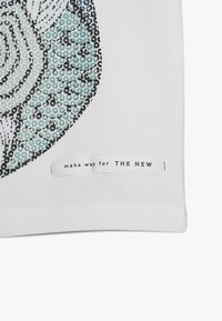 The New - KEITH TEE - T-shirt med print - bright white - 4